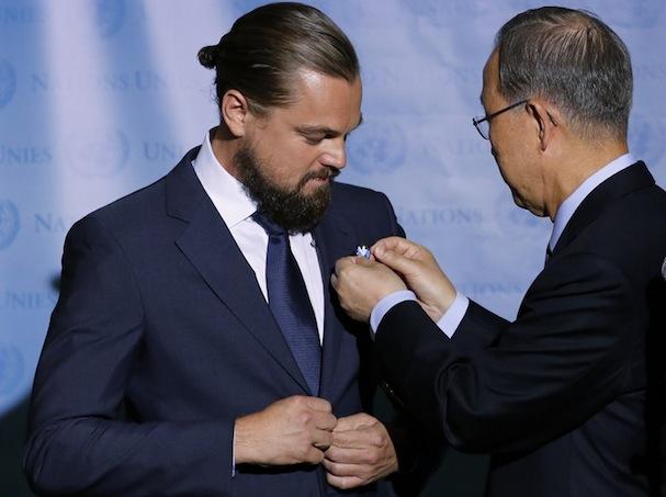 Leonardo DiCaprio Messenger of Peace1 607