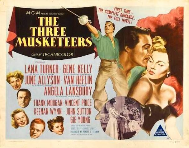 The Three Musketeers Poster 607