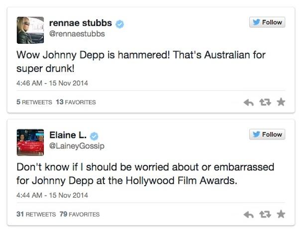 Johnny Depp Drunk twitter reactions1