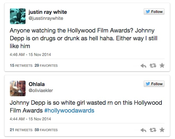 Johnny Depp Drunk twitter reactions3