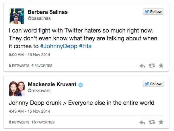 Johnny Depp Drunk twitter reactions4