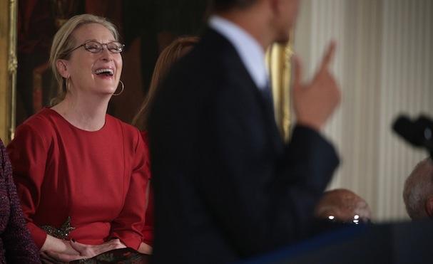 Meryl Streep Obama4