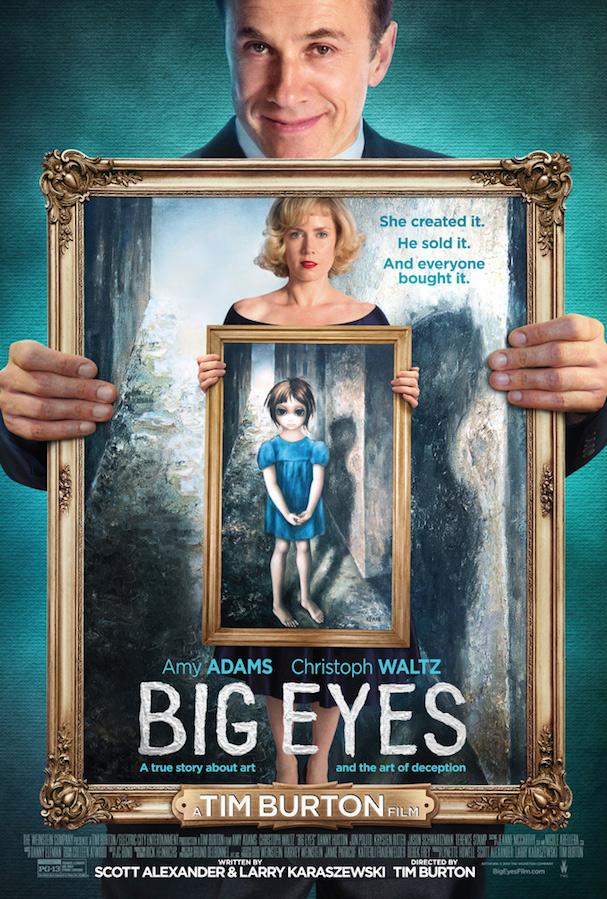 Big Eyes Poster Uk