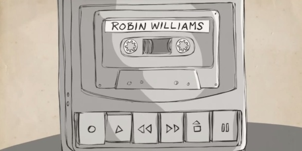 Robin Williams Blank on Blank