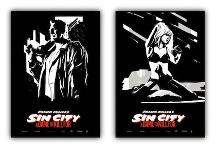 Sin City Α Dame to Kill For 1 movie poster 424