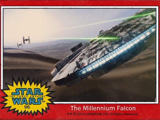 star wars trading cards6 607
