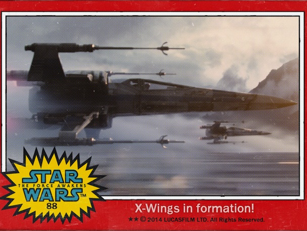 star wars trading cards8 607