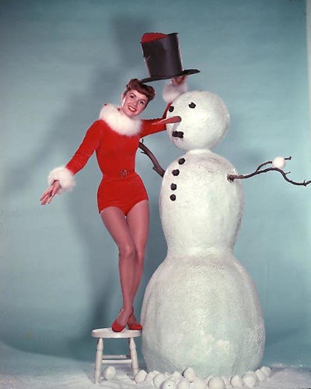 Christmas Debbie Raynolds 607