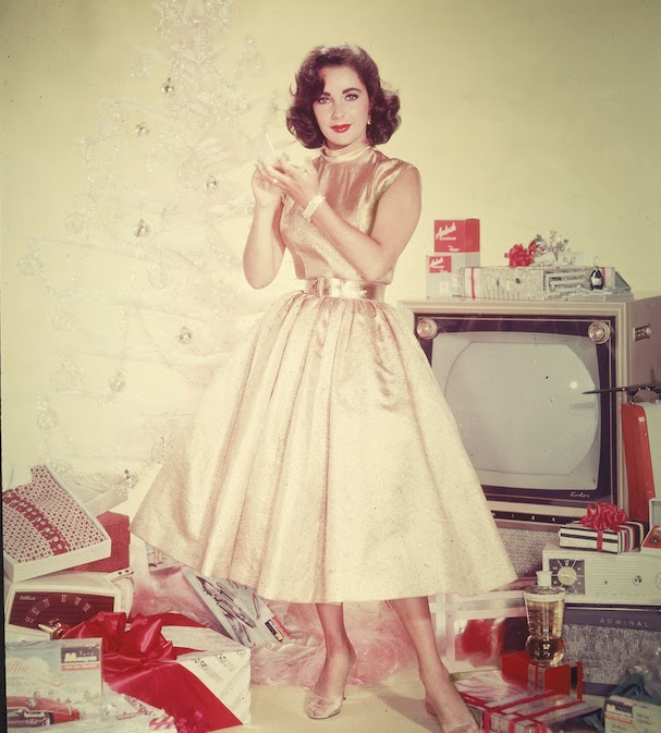 Christmas Elizabeth Taylor 607