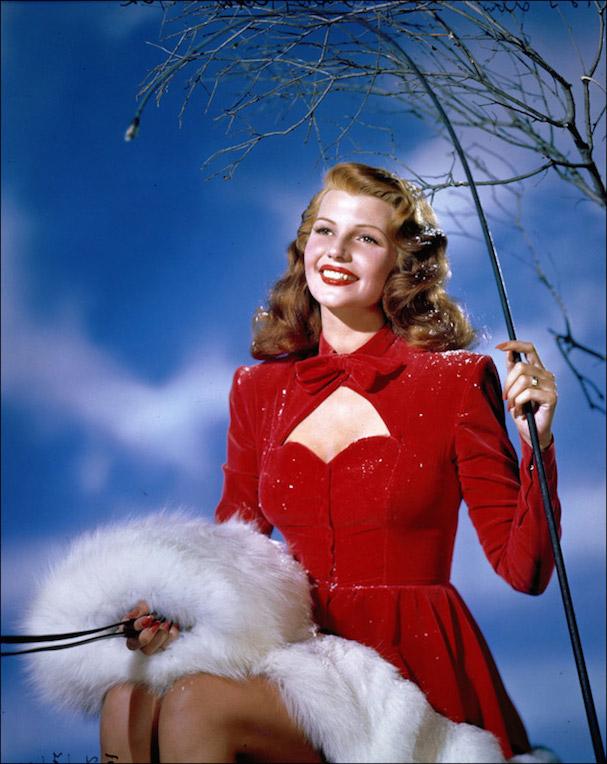 Christmas Rita Hayworth 607
