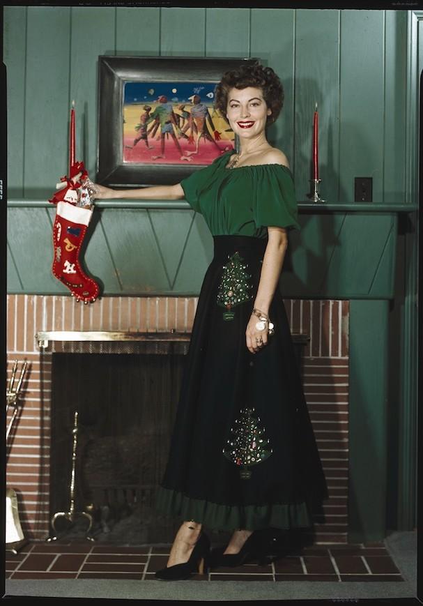 Christmas Ava Gardner 607