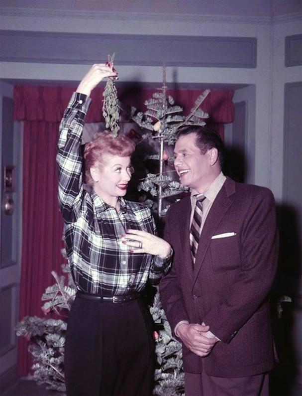 Christmas Lucille Ball 607
