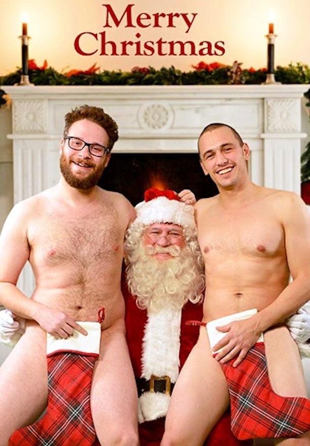 The Interview xmas card 607