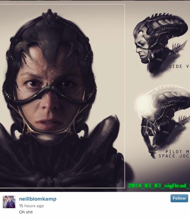 Alien Neil Blomkamp 607