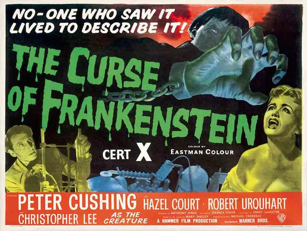 Curse of Frankenstein 607