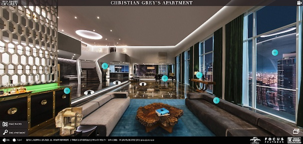 Fifty Shades of Grey Poster Apartment 607
