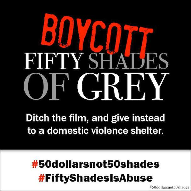 Fifty Shades Boycott