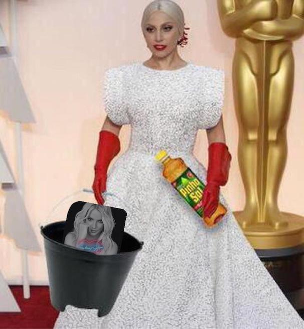 Lady Gaga Oscars 2015 607