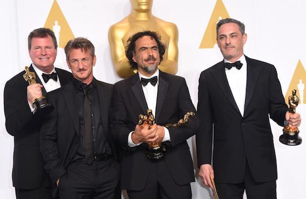 Sean Penn Oscars 2015 607