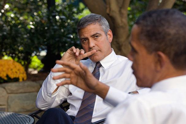 George Clooney barack obama 607
