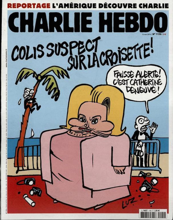 Charlie Hebdo Cannes 2015