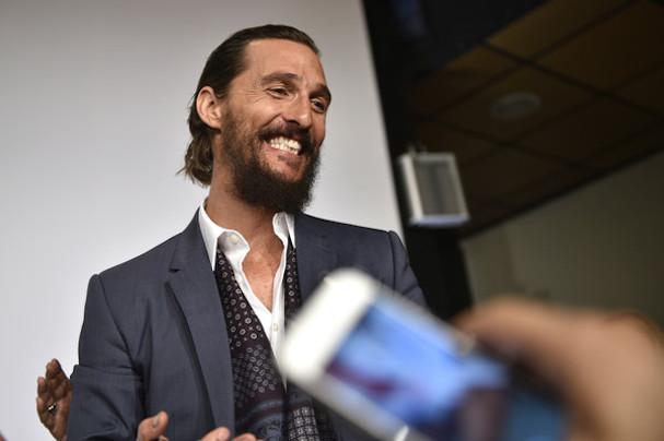 Matthew McConaughey Cannes 2015