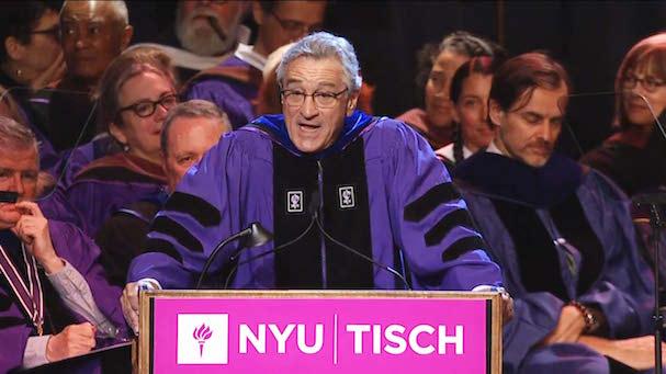 Robert Den Niro Tisch NYU 607