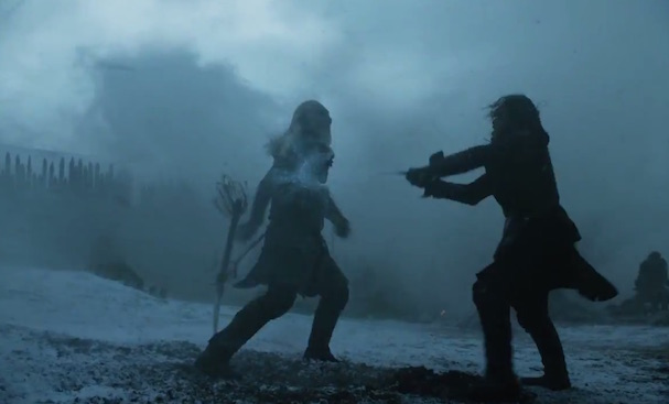 jon snow game of thrones shooting 607