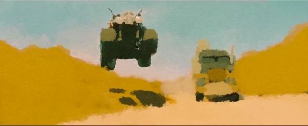 Mad Max fury road animated 607