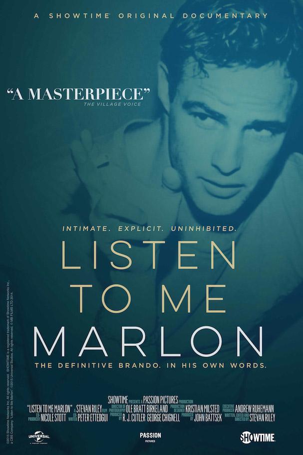 Listen to me Marlon Poster 607