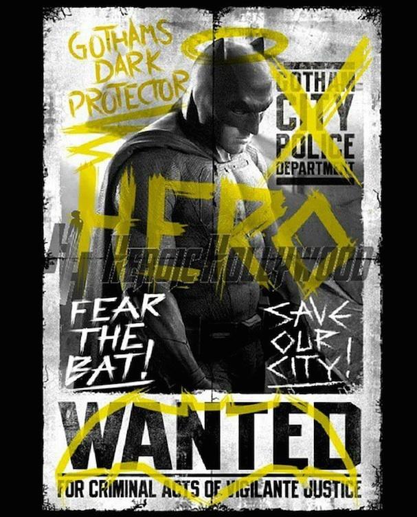 Batman v Superman: Dawn of Justice Poster 607