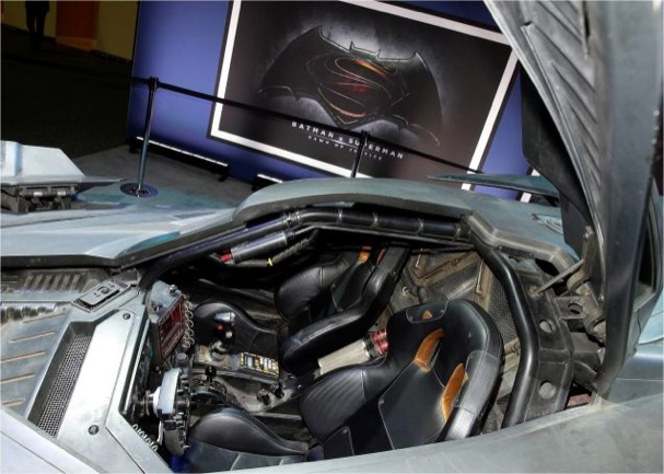 Batman v Superman: Dawn of Justice Batmobile 607