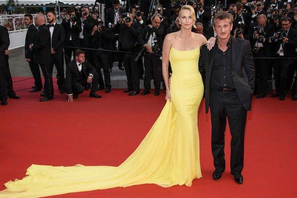 Charlize Theron Sean Penn Cannes 2015