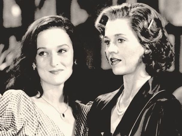 Meryl Streep and her Mother