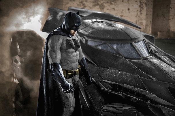 Ben Affleck Batman costume 607