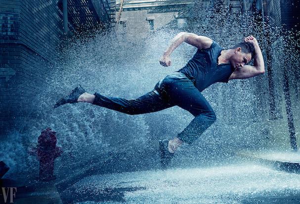Chaning Tatum singing in the rain 607 2
