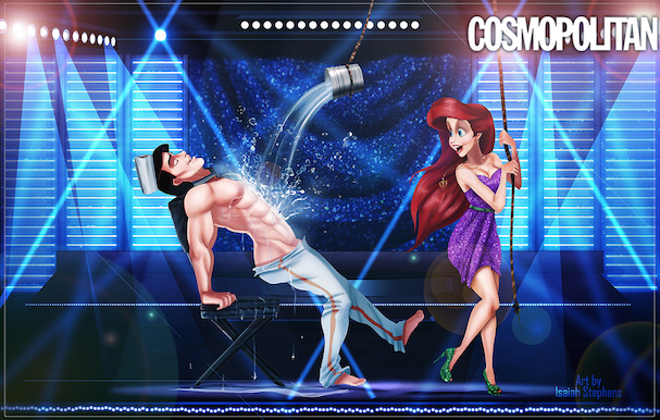 Disney Princes As 'Magic Mike' Strippers 607 4