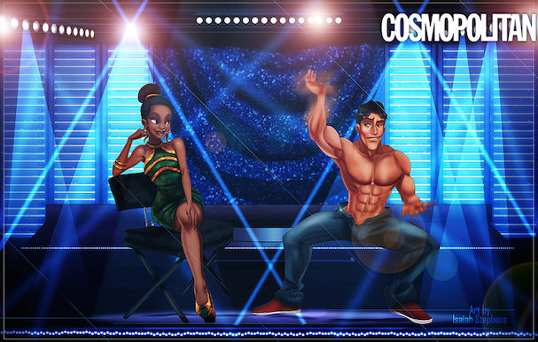 Disney Princes As 'Magic Mike' Strippers 607 7