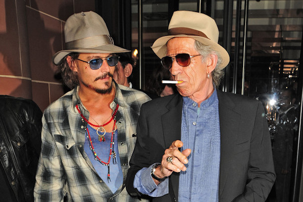 Johnny Depp Keith Richards 607