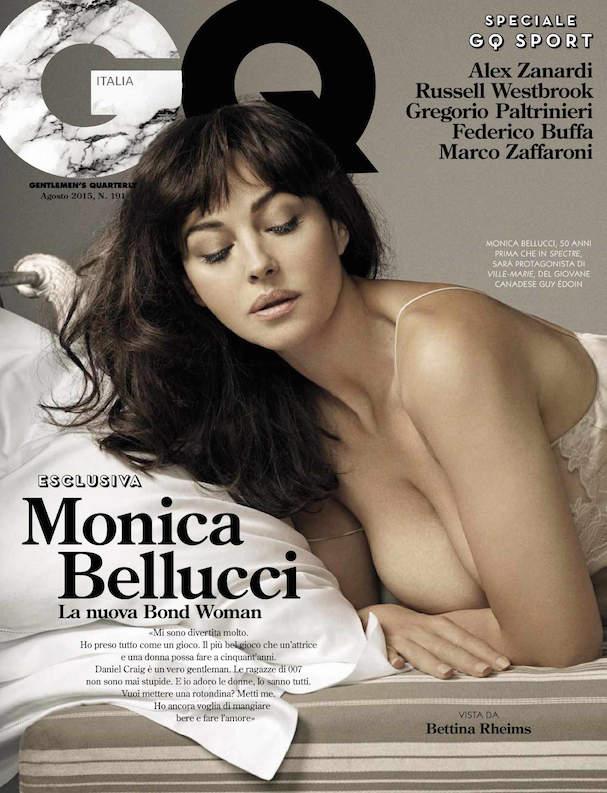 Monica Belucci GQ 2015