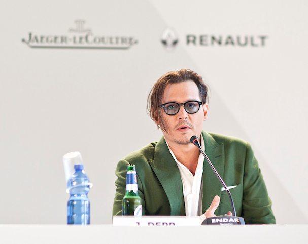 Johnny Depp Venice 2015