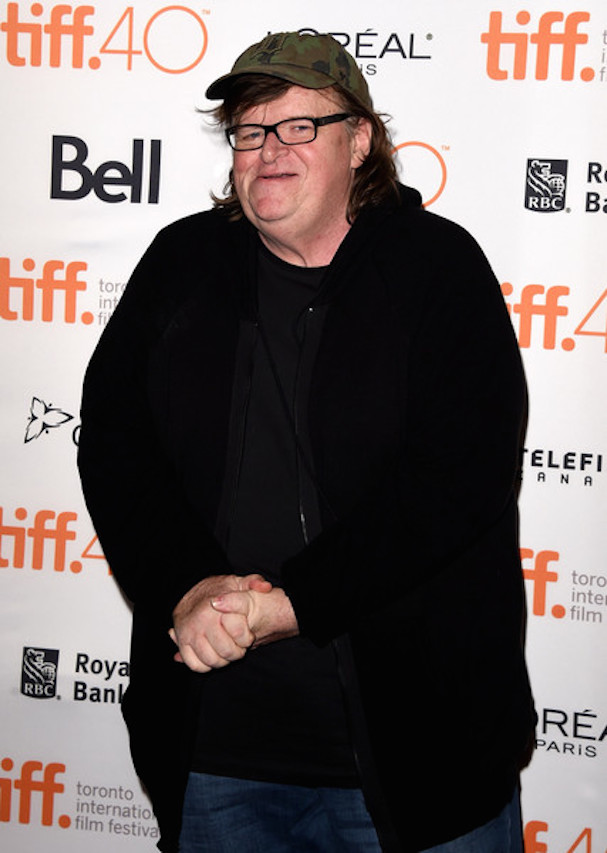 Michael Moore Toronto 2015