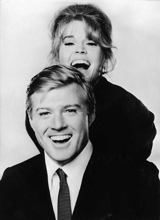 Robert Redford Jane Fonda 607