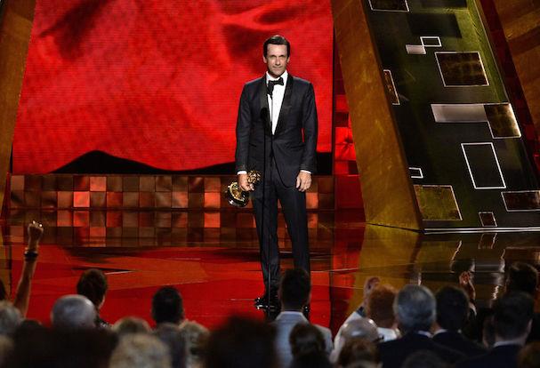 John Hamm Emmys 2015