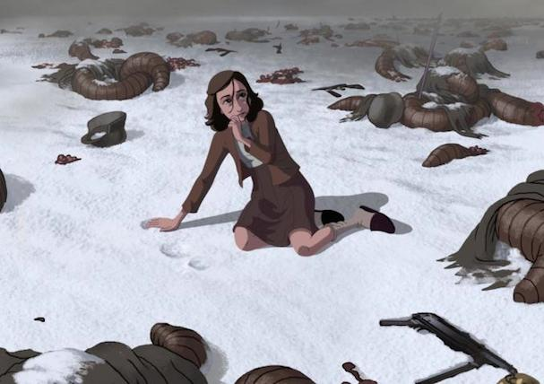 Ari Folman Anne Frank