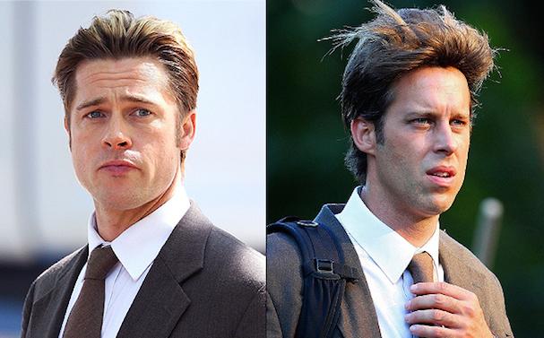 Brad Pitt Stunt