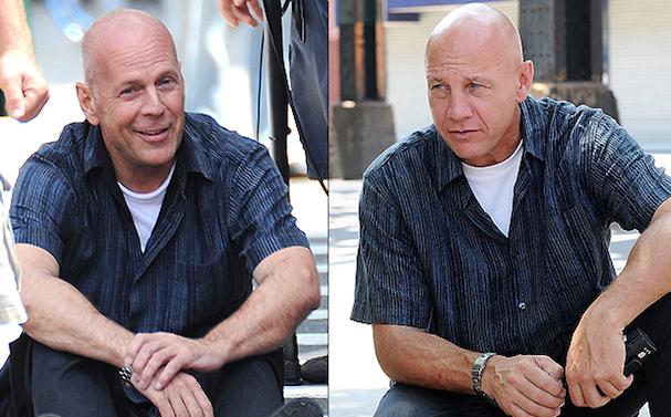 Bruce Willis Stunt