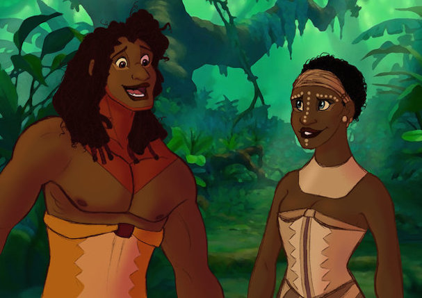 Disney animals as humans 607 5
