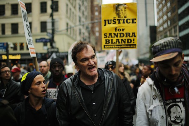 Quentin Tarantino Protests Police Brutality 607