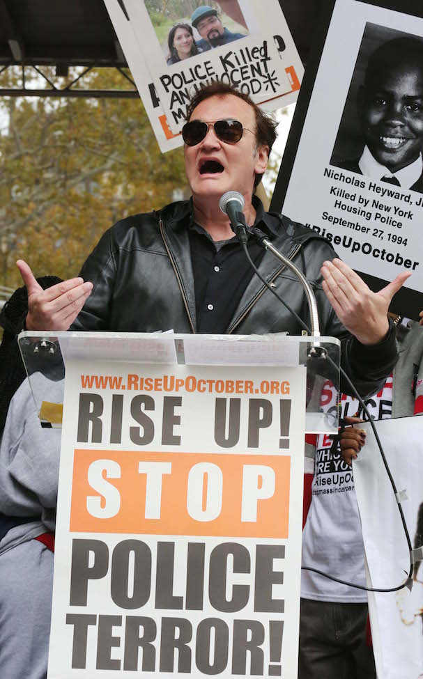 Quentin Tarantino Protests Police Brutality 607 2